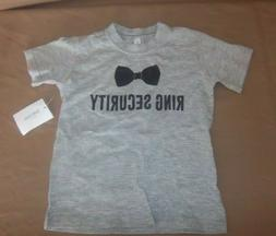 Ring Security - Kids T-Shirt - Wedding - ring Bearer - David