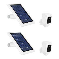 ring spotlight cam battery w solar power