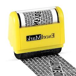 rolling identity theft guard stamp - secure identity theft p