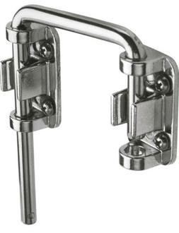 Secondary Door Lock Sliding Loop Home Security Diecast Chrom