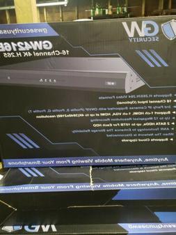 Gw Security 16- Channel 4k Nvr