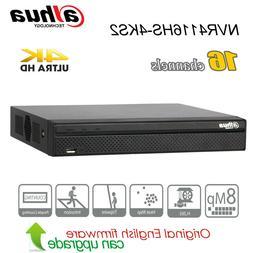 Dahua Security 16CH 4K UHD NVR H.265 P2P SATA HDMI NVR4116HS