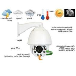 GW Security 5MP Outdoor PTZ Camera 20x Zoom Night Vision