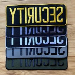 """SECURITY backpatch ASSORTED COLORS 11"""" x 4"""""""