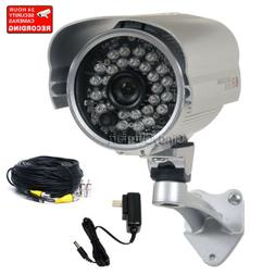 Security Camera 700TVL IR Night Vision Outdoor w/ SONY EFFIO
