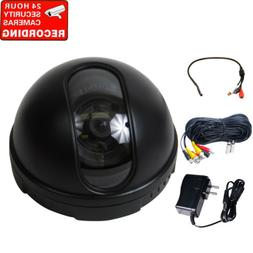 Security Camera Built-in SONY CCD Wide Angle Surveillance w/