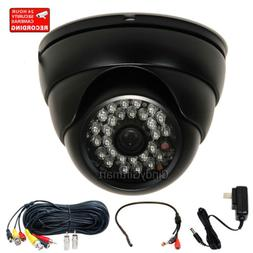 Security Camera SONY CCD IR Infrared Day Night Home Wide Ang