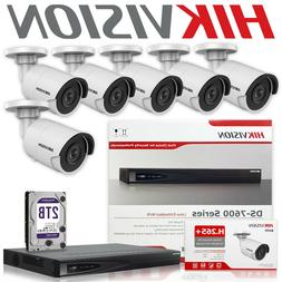 Hikvision Security Camera System 8 CH NVR DS-7608NI-E2/8P +