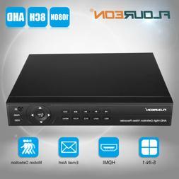 FLOUREON Security Cloud DVR 8CH 1080p HDMI H.264 Recorder fo