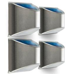 Home Zone Security Solar Wall Lights - Outdoor Solar Fence P
