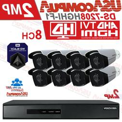 HIKVISION SECURITY SYSTEM KIT 8CH BULLET 1080P TURBO-HD IR-4