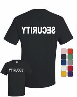 Security T-Shirt Bouncer Police Event Staff Uniform Guard Te