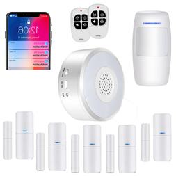 Smart Security System Wifi Alarm Kit W APP Push & Calling Al