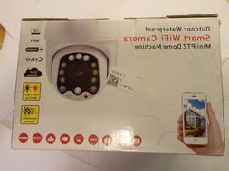 Smart WiFi Camera Outdoor Waterproof Mini PTZ Dome Machine S