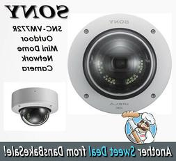 Sony SNC-VM772R 20MP Outdoor Mini Dome Network Camera - 4K -