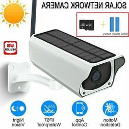 solar powered ip camera 1080p wifi ip67