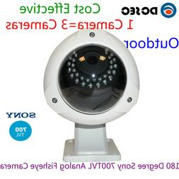 Sony 700TVL 180 degree Analog Wide Angle Outdoor IP68 Fish e