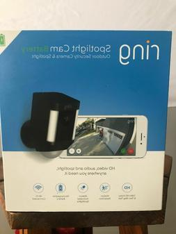 Ring Spotlight CAM Battery HD Security with Two-Way Talk & S
