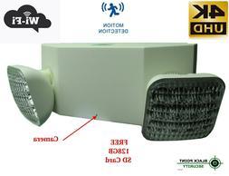 Spy Hidden 4K UHD WIFI Wireless Camera Emergency Garage Floo
