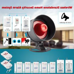 Standalone Home Office Shop Security Alarm System Kit Wirele
