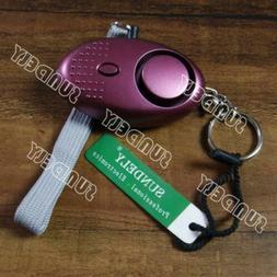 SUNDELY Purple Hi-Q Personal Panic Rape Attack Safety Securi