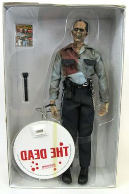 Sideshow Collectibles The Dead Subject 05 Security Guard Zom