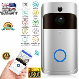 Two Way Door Bell WiFi wireless Video PIR Doorbell Talk HD C