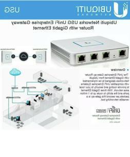 Ubiquiti USG UniFi Security Gateway Enterprise Router 3 Giga