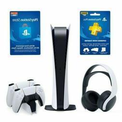 Ultimate PlayStation 5 Digital System Bundle