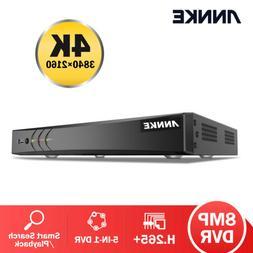 ANNKE Ultra HD 4K 8CH DVR 8MP Security Video Recorder CCTV S
