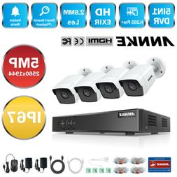 ANNKE Ultra HD 5MP 8CH DVR Outdoor CCTV Security Camera Syst