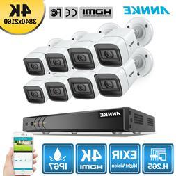ANNKE Ultra HD 8CH 4K DVR Home 8MP Security Camera System 2.