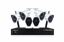 Night Owl 4K Ultra HD Hybrid Security System 4X 4K Wired Cam