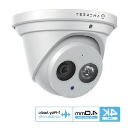 Amcrest UltraHD 8M 4K Turret PoE Outdoor Security IP Camera