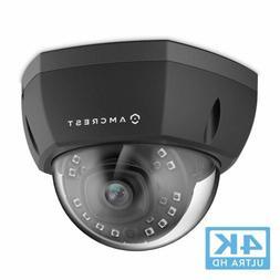 Amcrest UltraHD 4K  Dome POE IP Camera Security, 3840x2160,