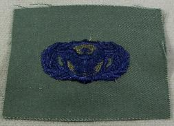 US Air Force Subdued Cloth Basic Security Police Obsolete Ba