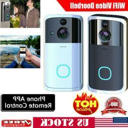 US Smart Wireless WiFi Video Door Bell IR Visual Camera Secu