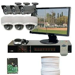 GW Security VD6CHH1 8-Channel HD-SDI DVR Security System: Lo