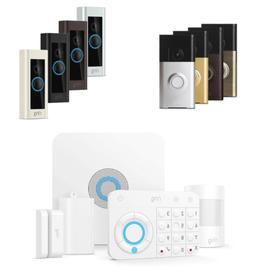 Ring Video Doorbell or Security System - Choice of Model and
