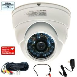 Wide Angle Security Camera Outdoor Day Night with SONY CCD+A