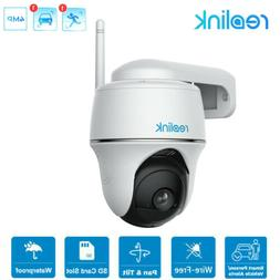 WIFI Battery Power Security Camera Pan Tilt Outdoor Waterpro