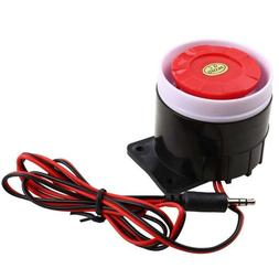 wired electronic alarm siren horn 110db dc9v