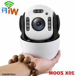 Wireless 1080P 20x zoom SONY starlight 307 PTZ speed dome ip