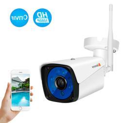Wireless 1080P Security Camera Outdoor Wifi Surveillance Nig