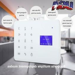 Wireless GSM SMS Smart Home House Office Security Burglar Al