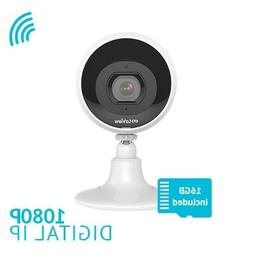 Wireless HD 1080P WiFi IP Outdoor Security Camera 2Way Audio