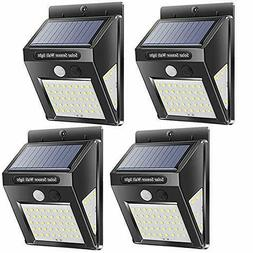 Wireless Motion Sensor Solar Lights Waterproof Security Ligh