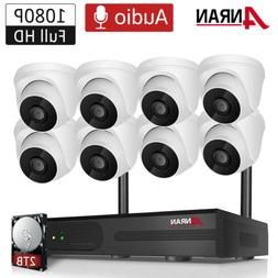Wireless Community Security Camera System with Audio Recordi