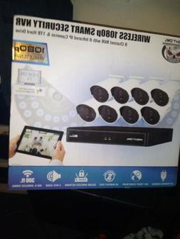 Night Owl Wireless Security Camera System 1080p 1TB 8 Camera