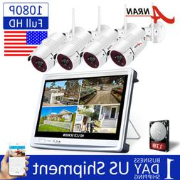 ANRAN Wireless Home CCTV Security Camera System Outdoor 8CH